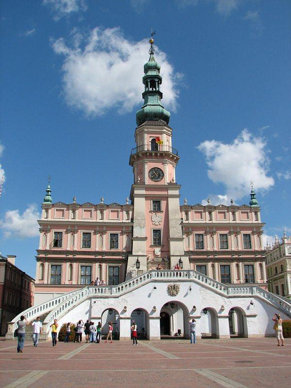town hall in Zamość