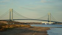 Verrazano Bridge-Most Verrazano -widoki ze Staten Island