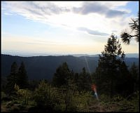 widok z bogus basin view from