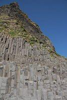 basalt pillars in vik