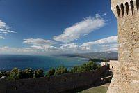 view from populonia tower